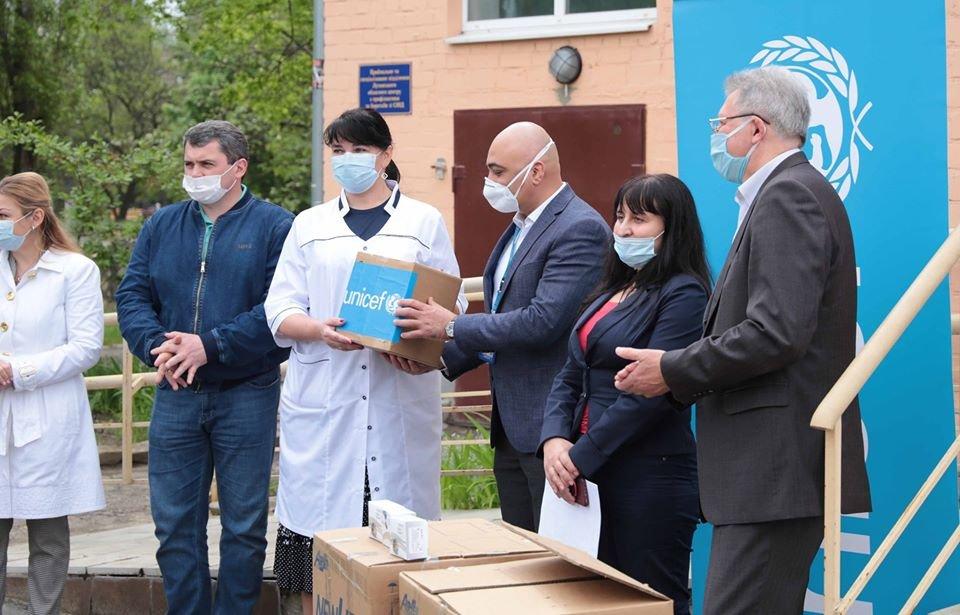 ЮНИСЕФ поддержал медицинские учреждения Луганщины в борьбе с коронавирусом, фото-2