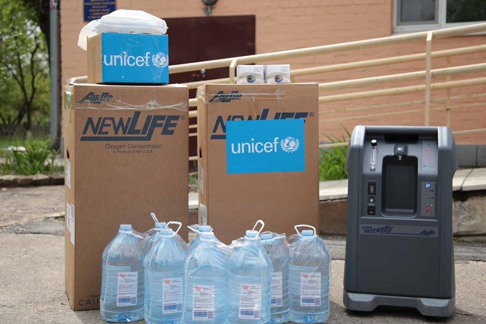ЮНИСЕФ поддержал медицинские учреждения Луганщины в борьбе с коронавирусом, фото-1
