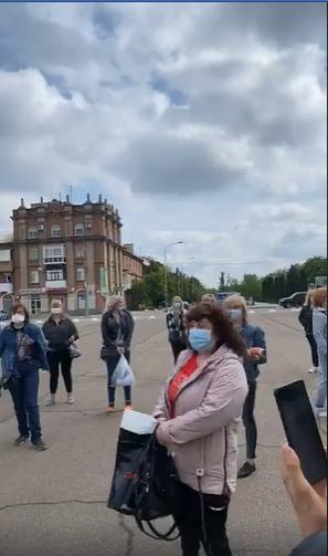 В Северодонецке люди собрались на митинг за возобновление работы рынков, фото-2