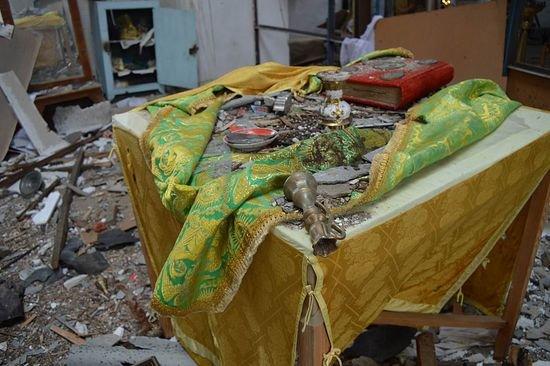 Храм на Луганщине выдержал обстрелы и превратился в культурное наследие, фото-8