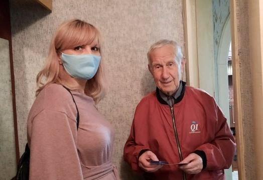 В Северодонецке 130 ветеранов получили подарки, фото-10
