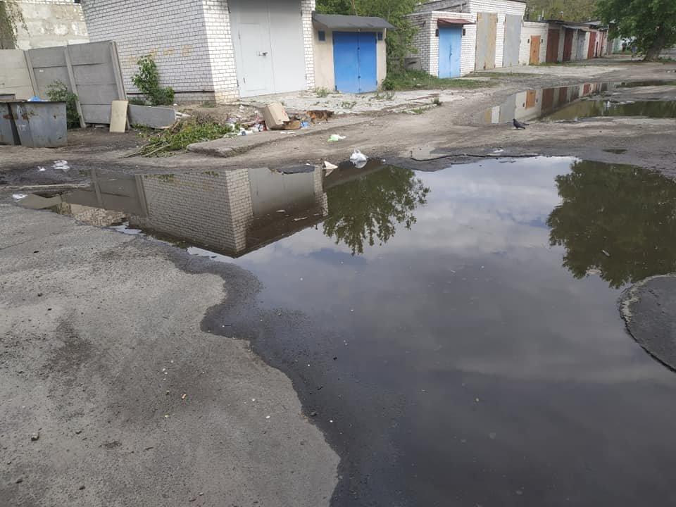 В Северодонецке посреди города образовалось болото (фото), фото-2
