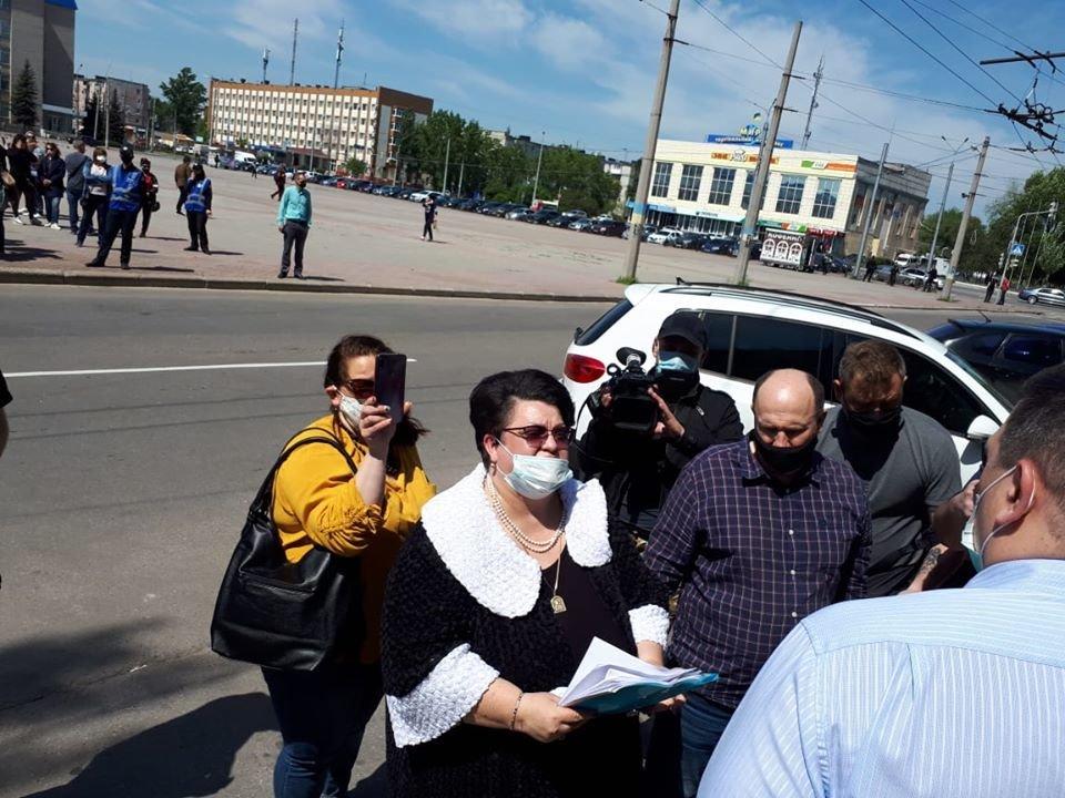 Предприниматели Луганской области вышли на митинги, фото-6