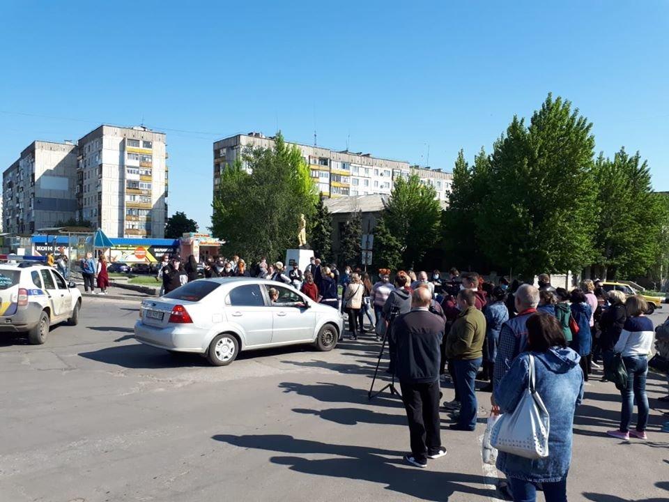 Предприниматели Луганской области вышли на митинги, фото-2