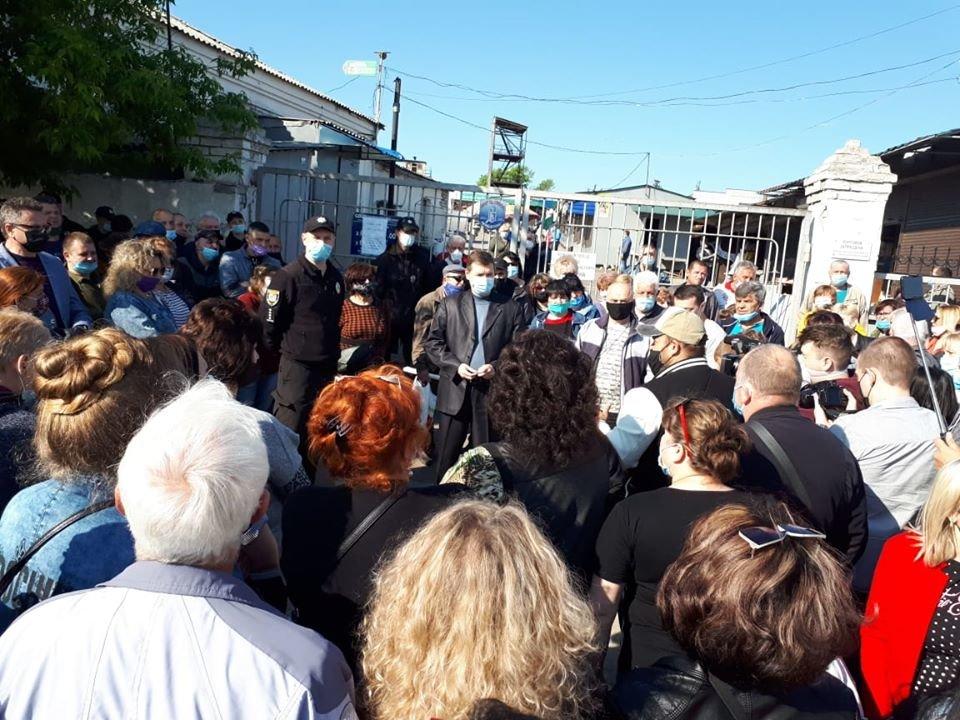 Предприниматели Луганской области вышли на митинги, фото-3
