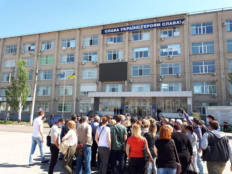Предприниматели Луганской области вышли на митинги, фото-5