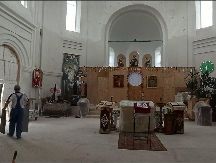 На Луганщине реставрируют храм, фото-4