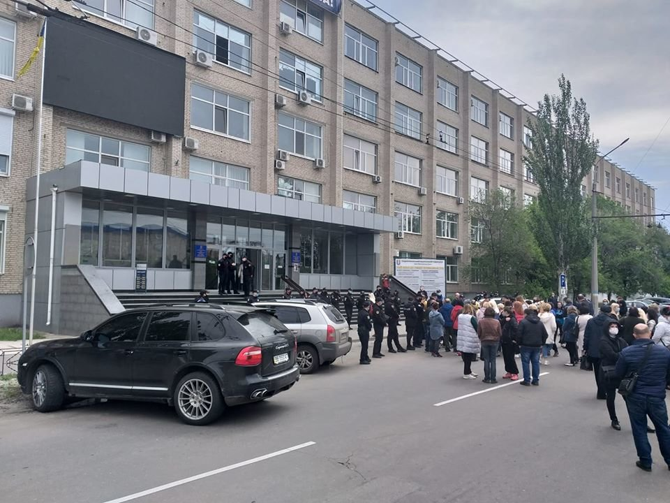 В Северодонецке предприниматели снова вышли на митинг, фото-2