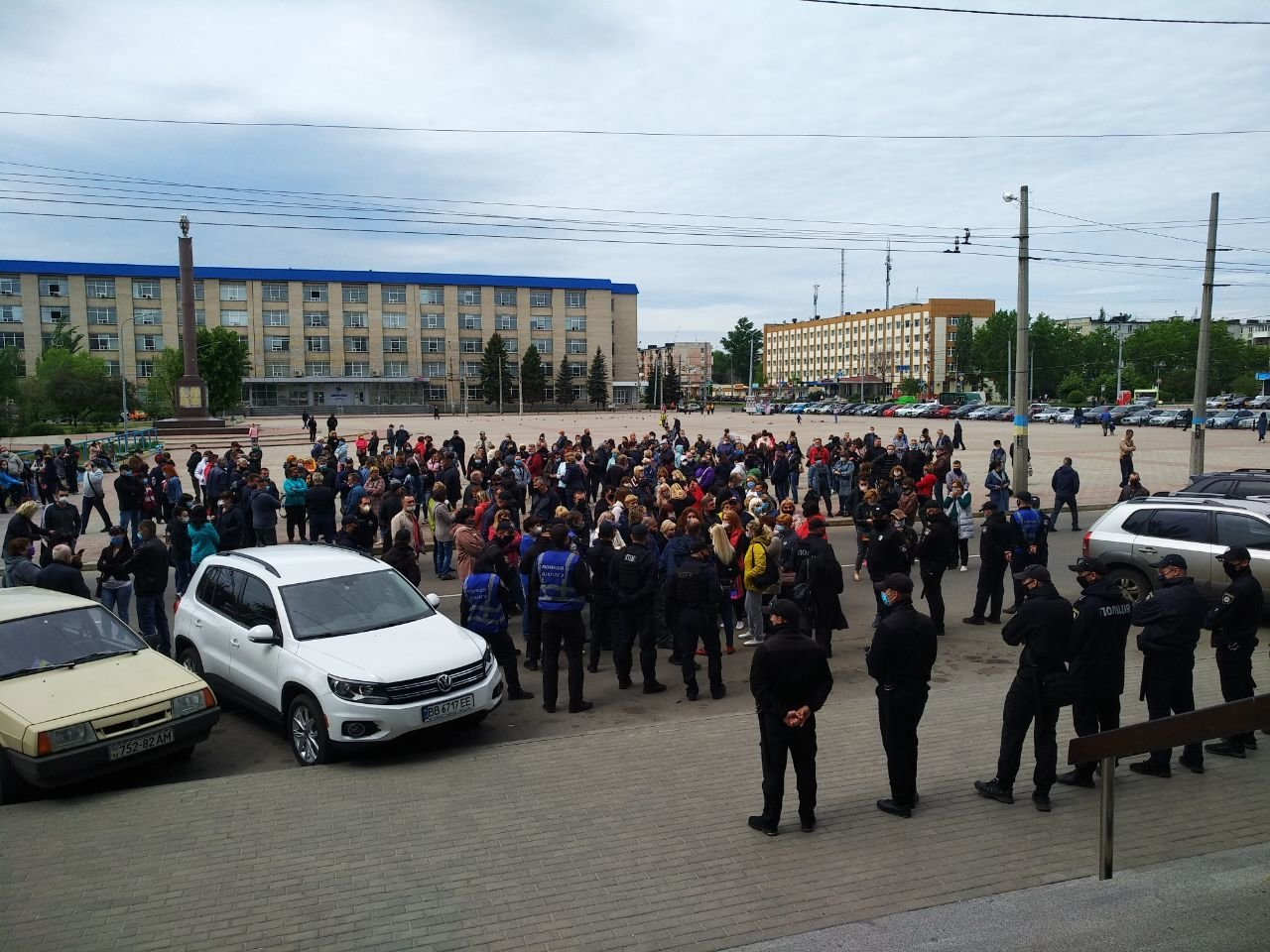 В Северодонецке предприниматели снова вышли на митинг, фото-1