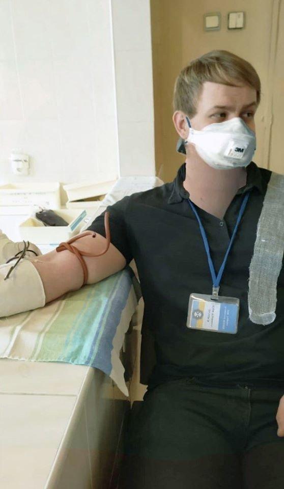 В Луганской области криминалисты стали донорами крови, фото-2