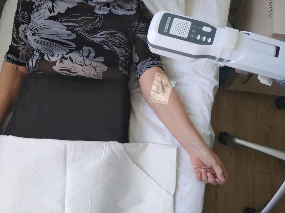 В больницах Луганской области появились венозные сканеры, фото-2