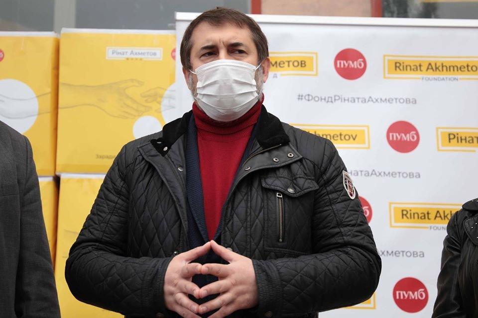 В Северодонецк доставили средства индивидуальной защиты для медиков, фото-2