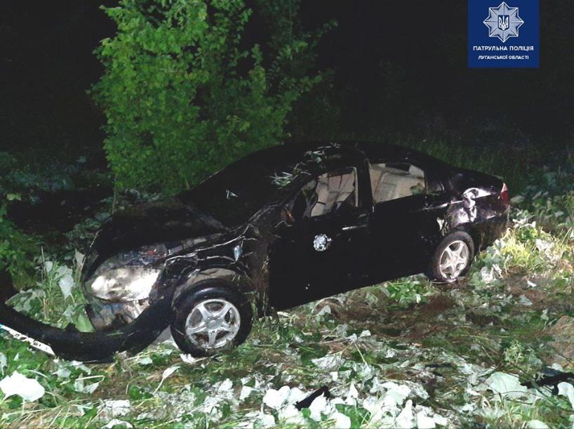 В Северодонецке в результате ДТП пьяный водитель получил черепно-мозговую травму, фото-1