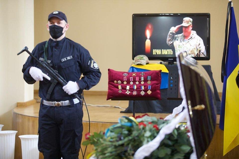 В Северодонецке прощаются с погибшим комбатом Сергеем Губановым, фото-2
