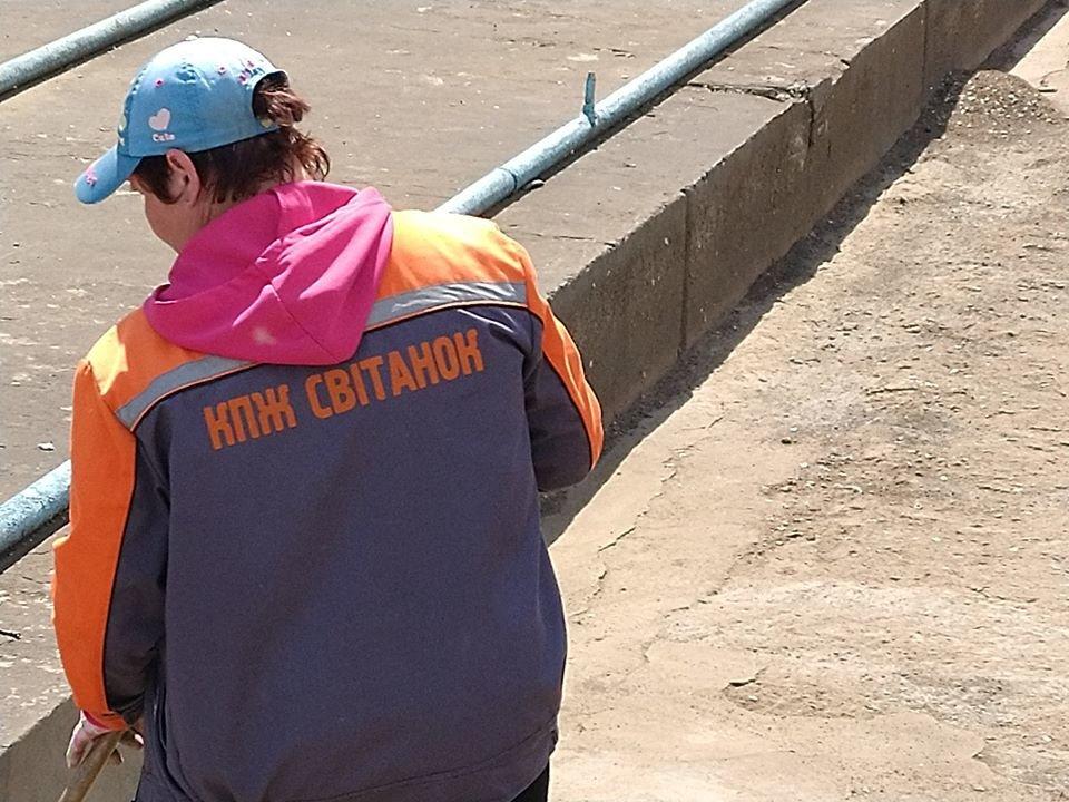 В Северодонецке чистят фонтан, фото-1