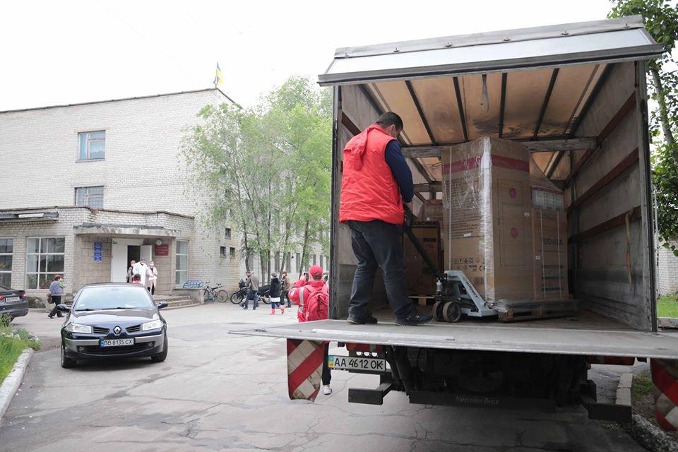 Медики Луганщины получили бытовую технику от Красного Креста, фото-2
