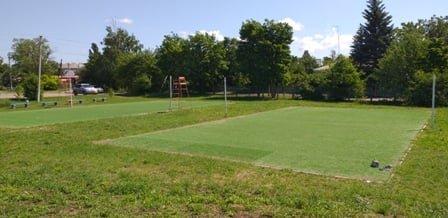 В Луганской области строят футбольную площадку, фото-2