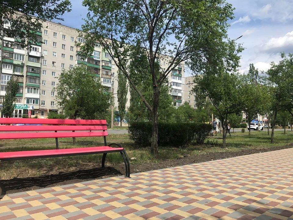 В Северодонецке установили новые лавочки, фото-1