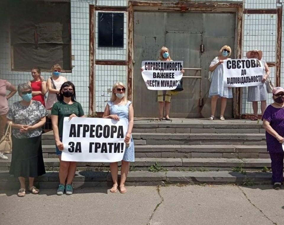 В Северодонецке прошла акция против насилия в семье, фото-4