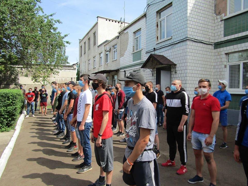 Призывники Северодонецка пополнили ряды ВСУ, фото-1
