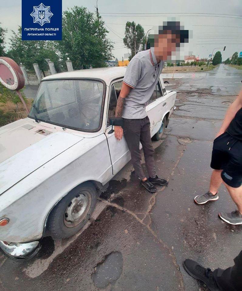 Северодонецкая полиция задержала водителя,  который нарушал ПДД и ездил с поддельными документами, фото-1