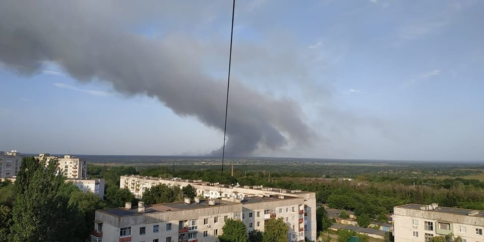 За Северодонецком горит лес, фото-5