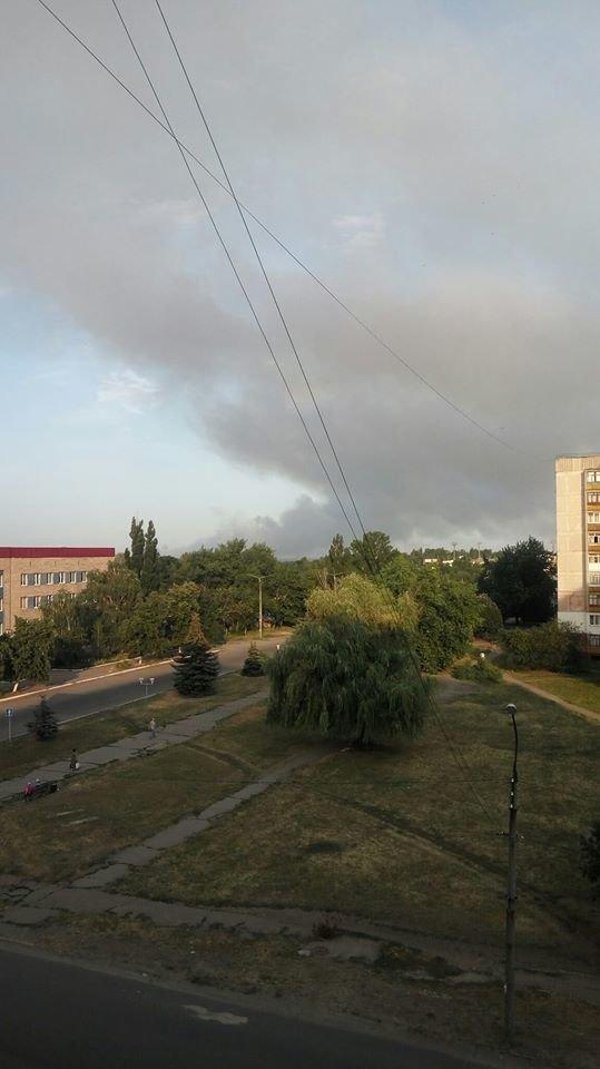 За Северодонецком горит лес, фото-4
