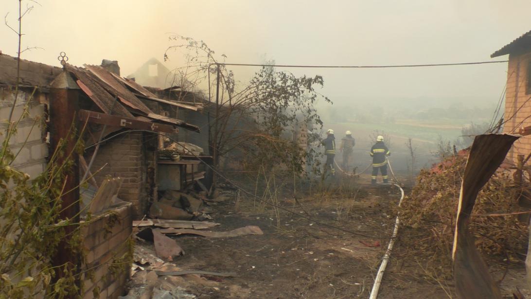 Пожар в Новоайдарском районе: госпитализировано 34 человека, погибло 5, фото-1