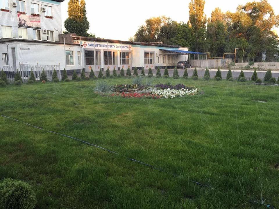 Северодонецкие пожарные создали в городе новую зеленую зону, фото-2