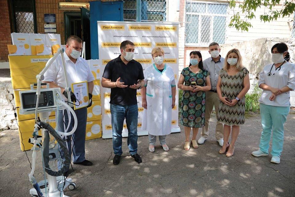 Больницы Луганщины получили новые аппараты ИВЛ, фото-1