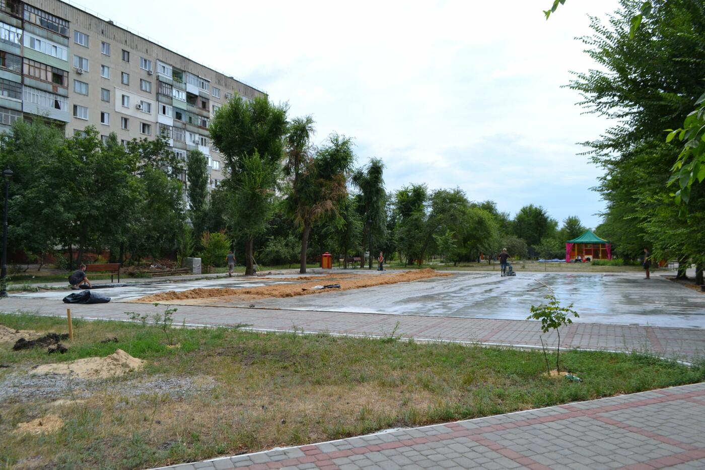 В Северодонецке шлифуют поверхность будущего скейт-парка (фото, видео), фото-3