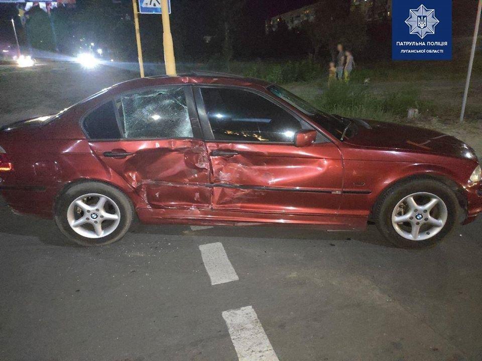 В Северодонецке столкнулись два автомобиля , фото-1