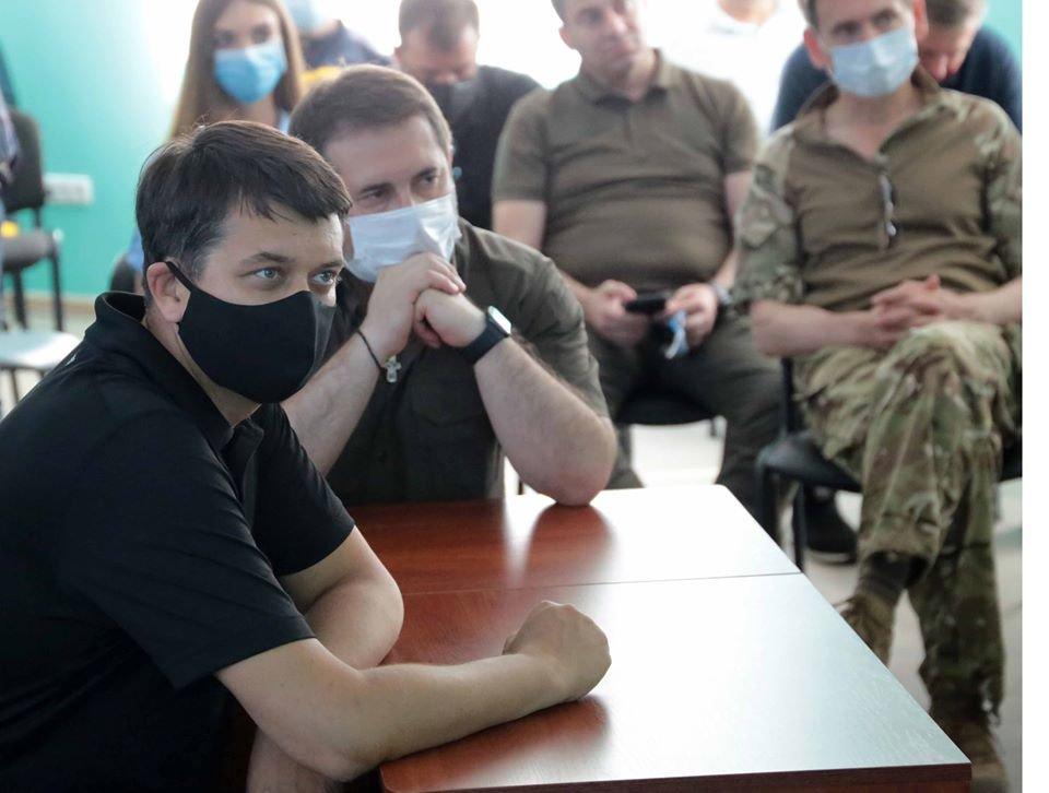 На Луганщину с рабочим визитом приехал спикер Верховной Рады Украины, фото-1