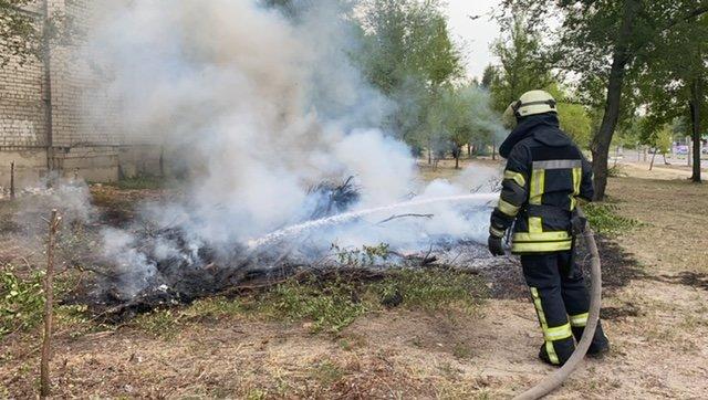 В Северодонецке дети устроили пожар , фото-1