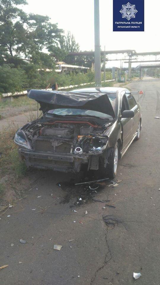 В Северодонецке пьяный водитель спровоцировал ДТП, фото-1
