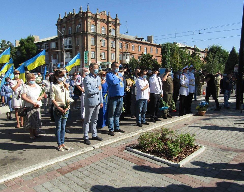 В Северодонецке отпраздновали День государственного флага , фото-4