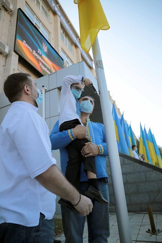 В Северодонецке отпраздновали День государственного флага , фото-2
