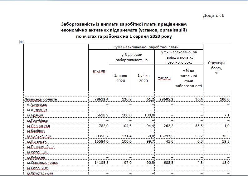 Угрожающая статистика: на Луганщине растет задолженность по зарплатам, фото-13