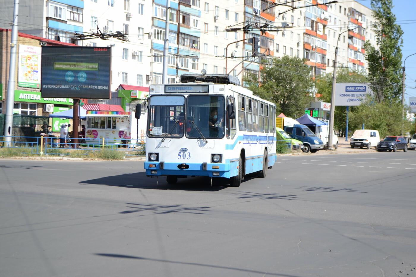 """""""Рогатому"""" 42  года: история и настоящее северодонецкого троллейбуса, фото-5"""