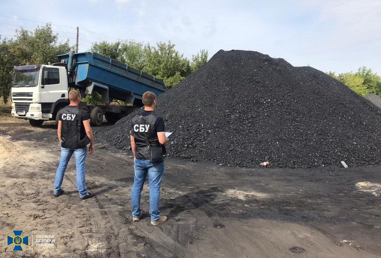 """На Луганщине чиновники разработали схему """"теневой"""" торговли углем, фото-1"""