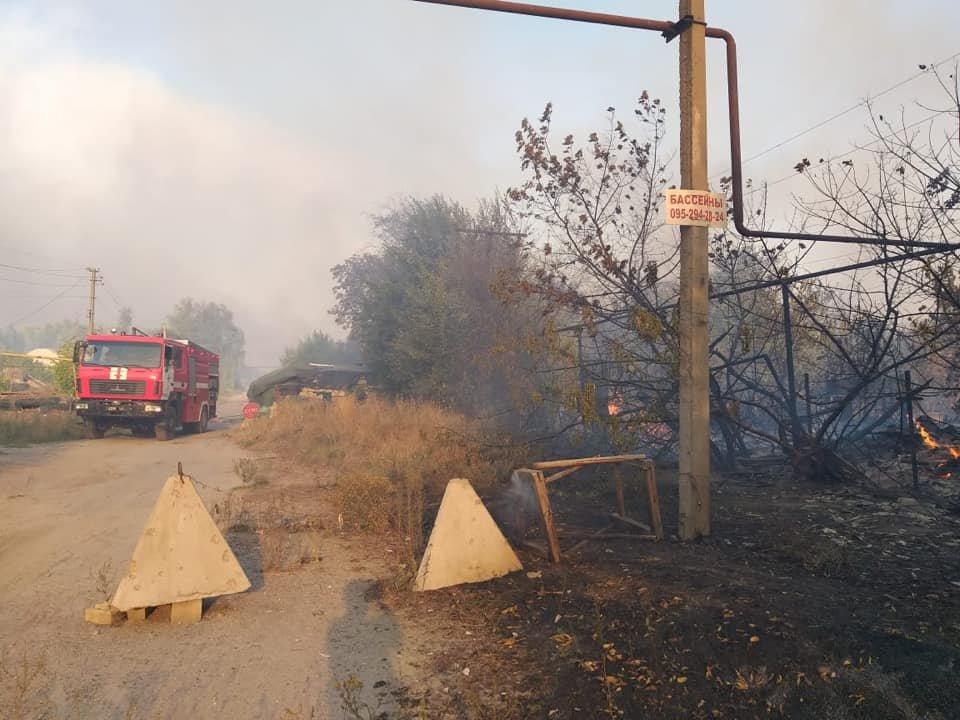 На Луганщине снова пожароопасная ситуация (фото) , фото-1