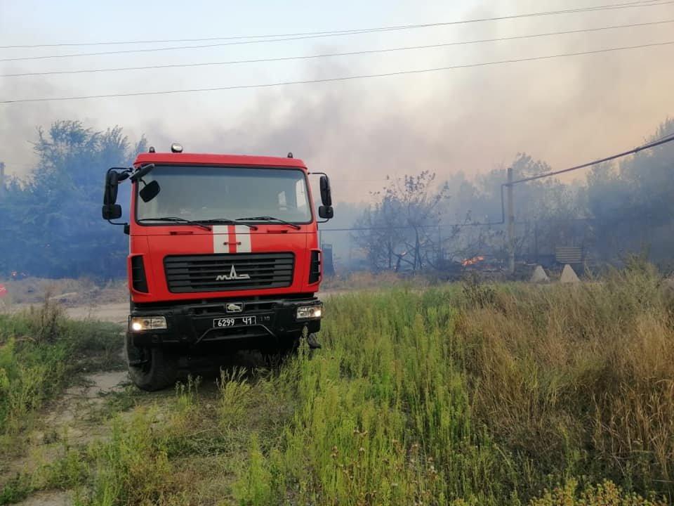 На Луганщине снова пожароопасная ситуация (фото) , фото-3