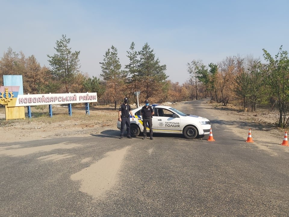 На Луганщине снова пожароопасная ситуация (фото) , фото-9