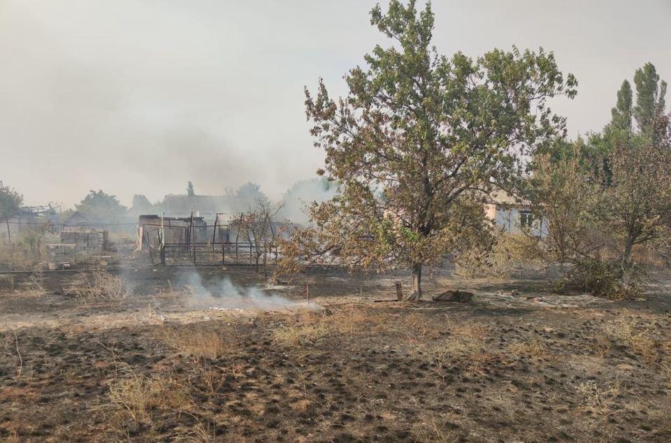 На Луганщине снова пожароопасная ситуация (фото) , фото-8