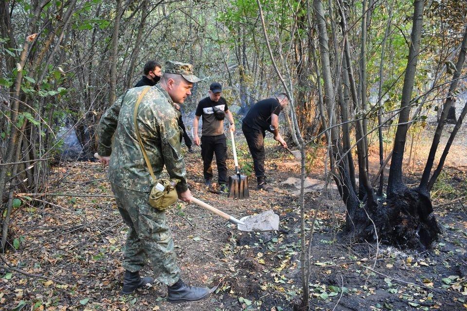 На Луганщине снова пожароопасная ситуация (фото) , фото-6