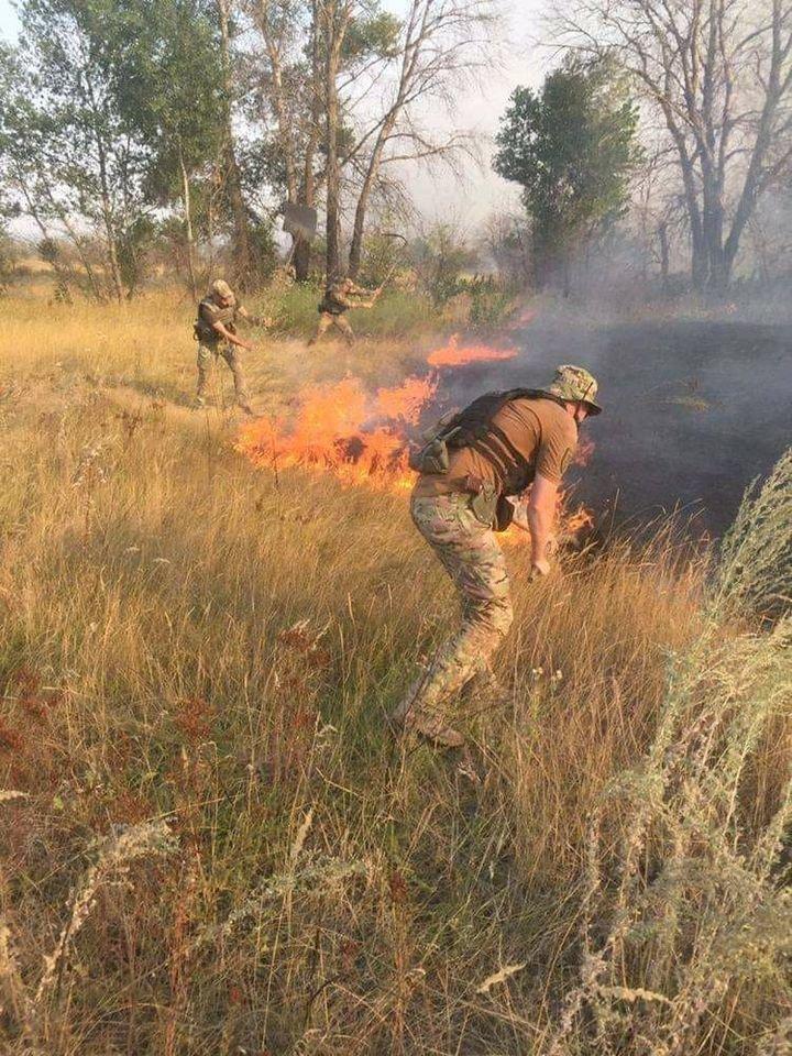 На Луганщине в результате пожара погиб человек, фото-1