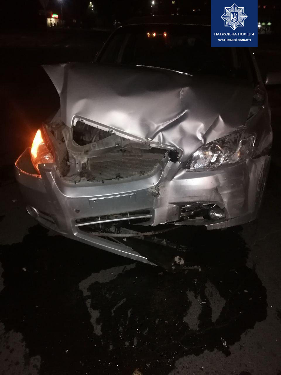 Перелом ребер получил водитель Chevrolet в результате ДТП в Северодонецке , фото-1