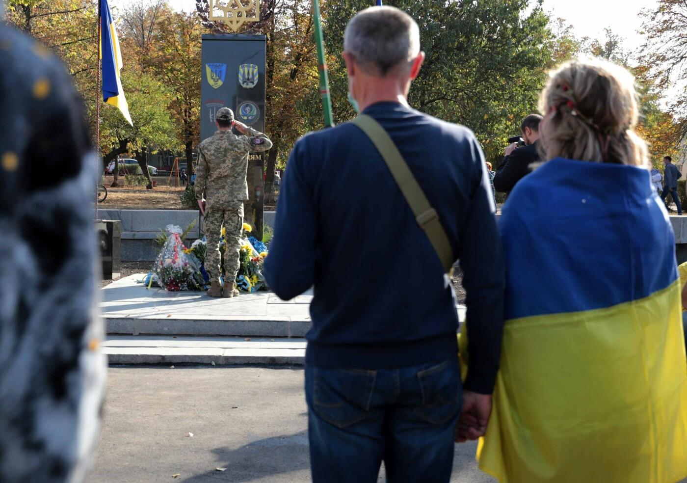 На Луганщине открыли памятник добровольцам АТО, фото-3