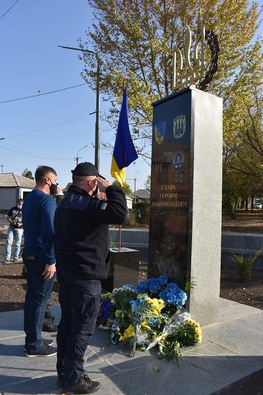 На Луганщине открыли памятник добровольцам АТО, фото-1