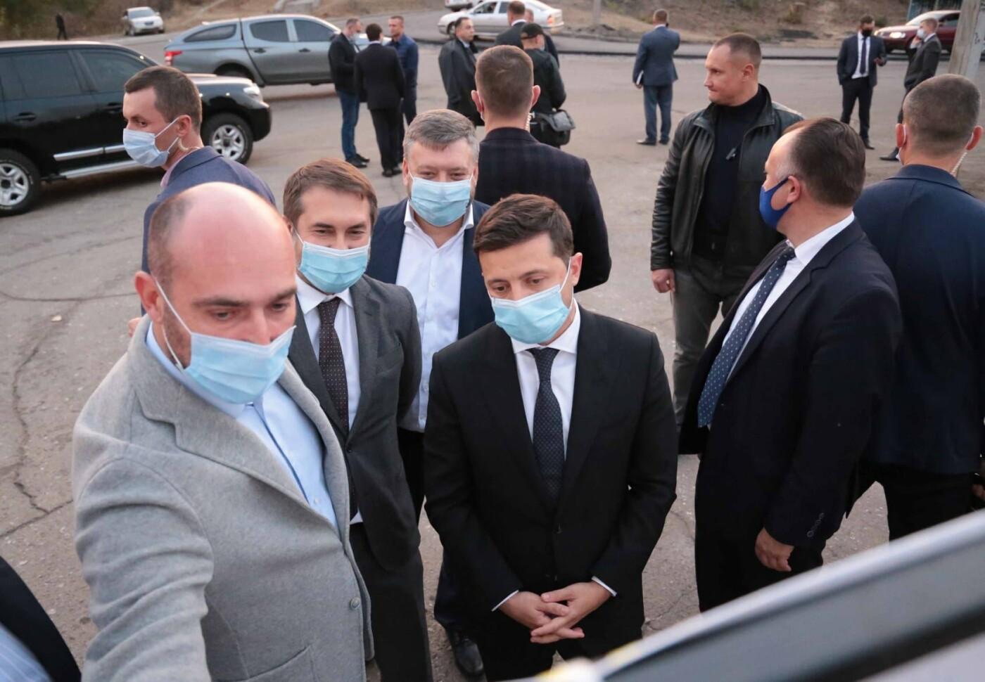 Луганскую область посетил Президент Украины, фото-4